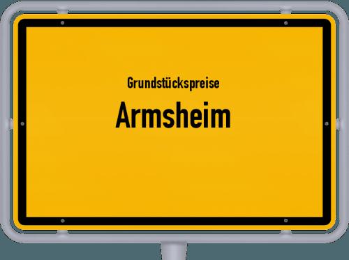 Grundstückspreise Armsheim 2019