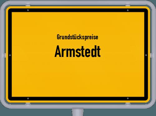Grundstückspreise Armstedt 2021