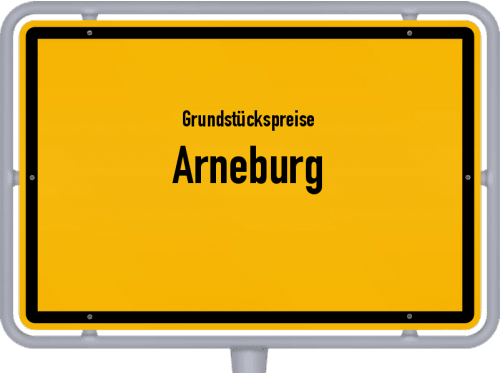 Grundstückspreise Arneburg 2021