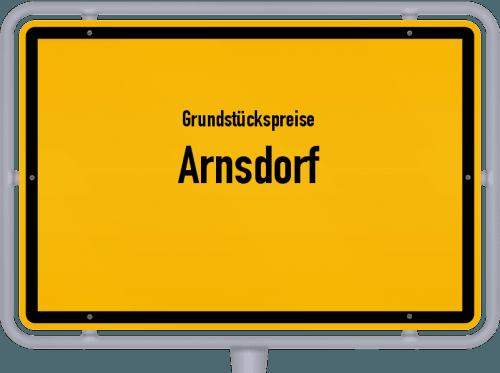 Grundstückspreise Arnsdorf 2019