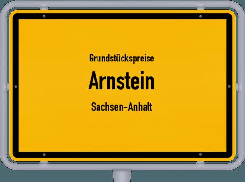 Grundstückspreise Arnstein (Sachsen-Anhalt) 2021