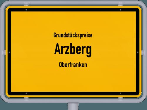 Grundstückspreise Arzberg (Oberfranken) 2019