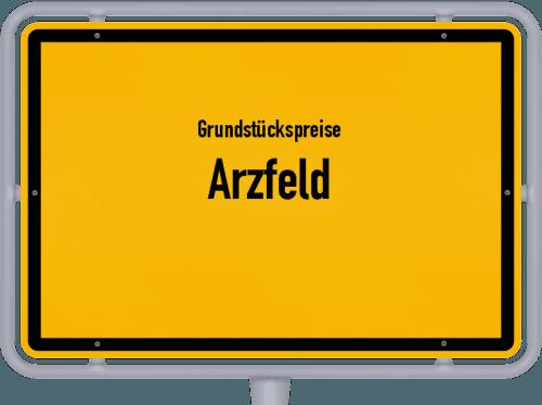 Grundstückspreise Arzfeld 2019