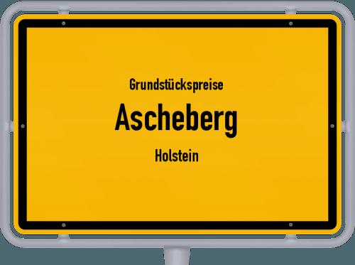 Grundstückspreise Ascheberg (Holstein) 2021