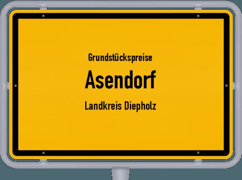 Grundstückspreise Asendorf (Landkreis Diepholz) 2021