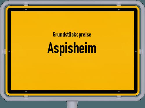 Grundstückspreise Aspisheim 2019
