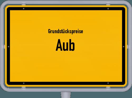 Grundstückspreise Aub 2019