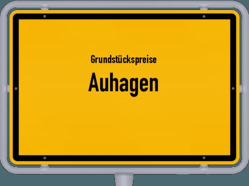 Grundstückspreise Auhagen 2021
