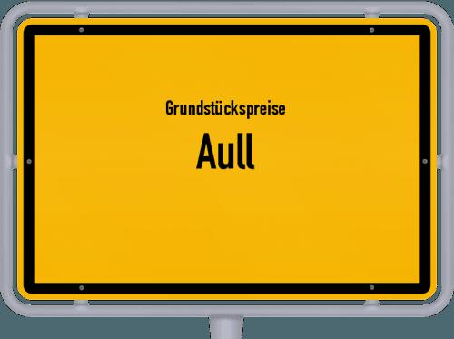 Grundstückspreise Aull 2019
