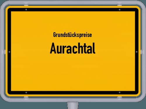 Grundstückspreise Aurachtal 2019