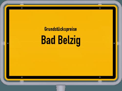 Grundstückspreise Bad Belzig 2021
