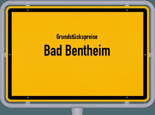 Grundstückspreise Bad Bentheim 2019