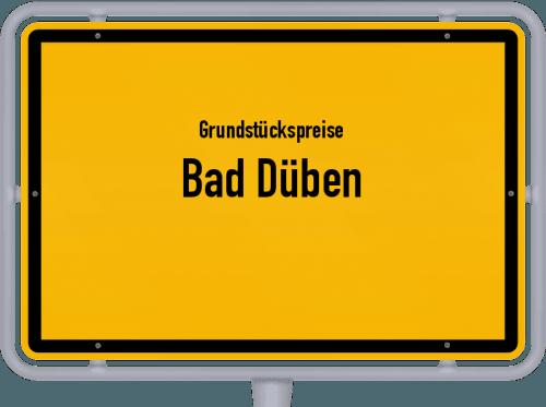 Grundstückspreise Bad Düben 2019