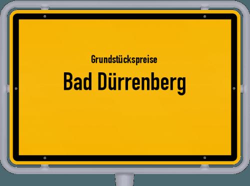 Grundstückspreise Bad Dürrenberg 2021