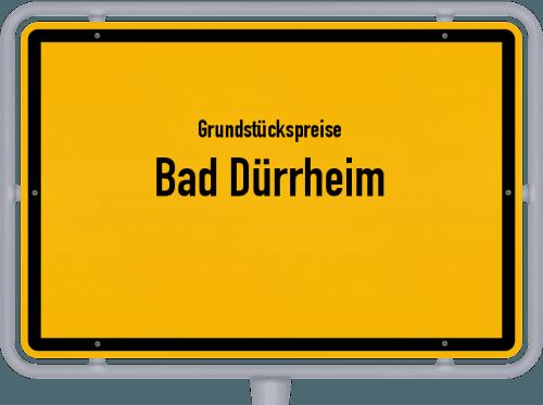 Grundstückspreise Bad Dürrheim 2021