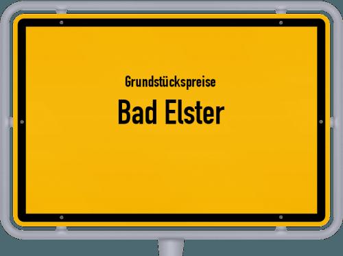 Grundstückspreise Bad Elster 2019
