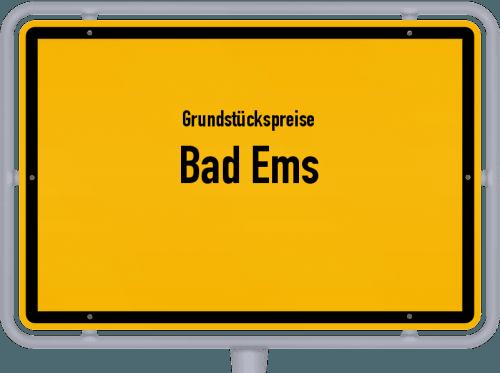 Grundstückspreise Bad Ems 2019