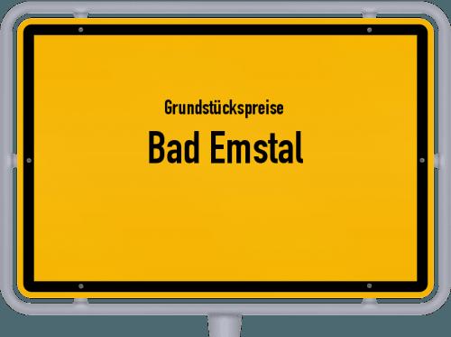 Grundstückspreise Bad Emstal 2018