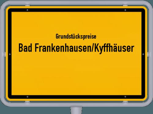Grundstückspreise Bad Frankenhausen/Kyffhäuser 2019