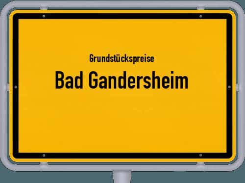 Grundstückspreise Bad Gandersheim 2019
