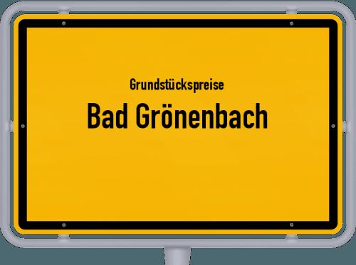 Grundstückspreise Bad Grönenbach 2019