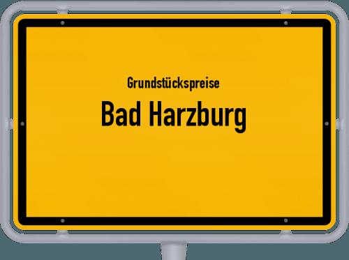 Grundstückspreise Bad Harzburg 2021