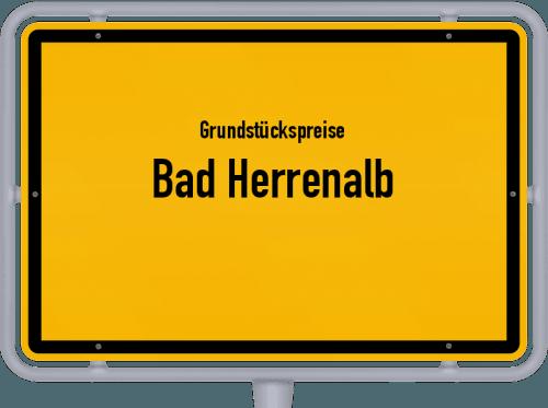 Grundstückspreise Bad Herrenalb 2018