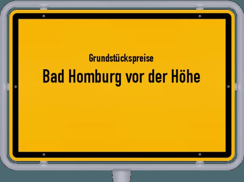 Grundstückspreise Bad Homburg vor der Höhe 2018