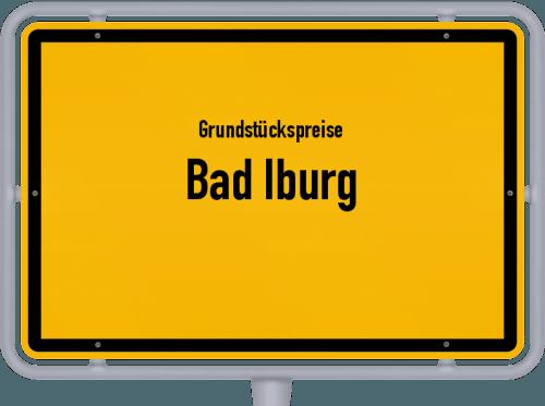 Grundstückspreise Bad Iburg 2021