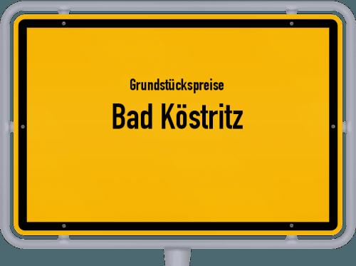 Grundstückspreise Bad Köstritz 2019