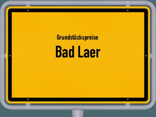 Grundstückspreise Bad Laer 2019