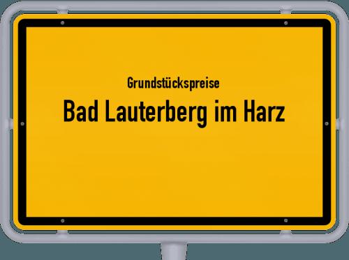 Grundstückspreise Bad Lauterberg im Harz 2019