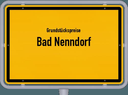 Grundstückspreise Bad Nenndorf 2021