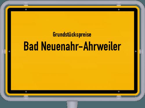 Grundstückspreise Bad Neuenahr-Ahrweiler 2019