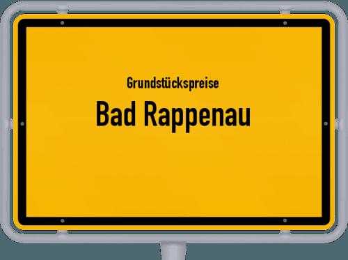 Grundstückspreise Bad Rappenau 2021