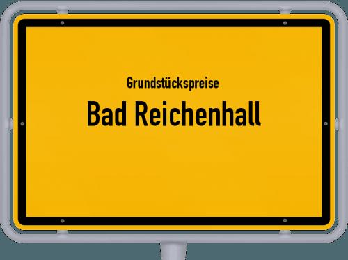 Grundstückspreise Bad Reichenhall 2021