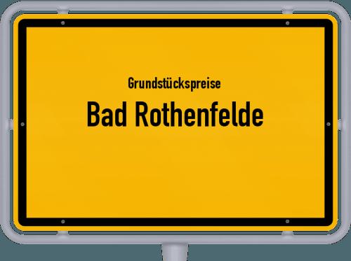 Grundstückspreise Bad Rothenfelde 2021