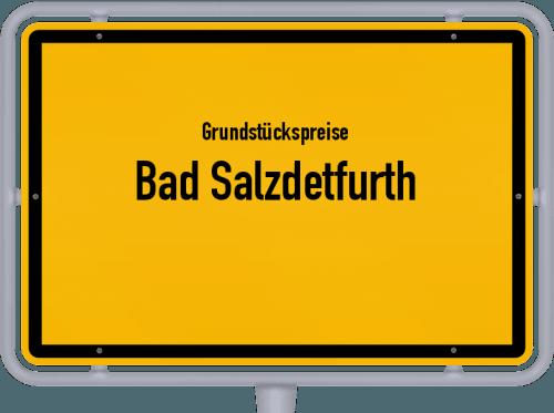 Grundstückspreise Bad Salzdetfurth 2021