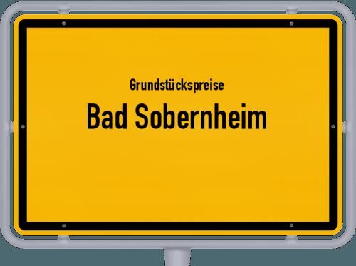 Grundstückspreise Bad Sobernheim 2019