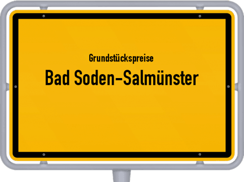Grundstückspreise Bad Soden-Salmünster 2020