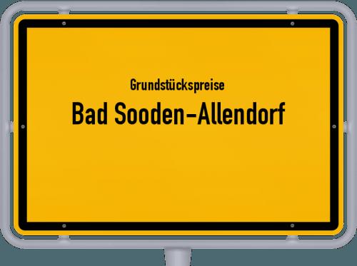 Grundstückspreise Bad Sooden-Allendorf 2018