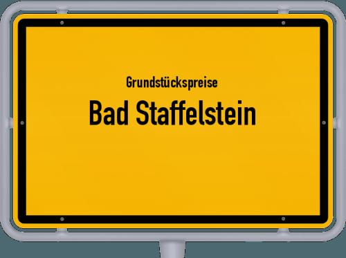 Grundstückspreise Bad Staffelstein 2019