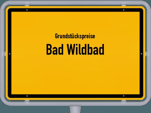 Grundstückspreise Bad Wildbad 2018