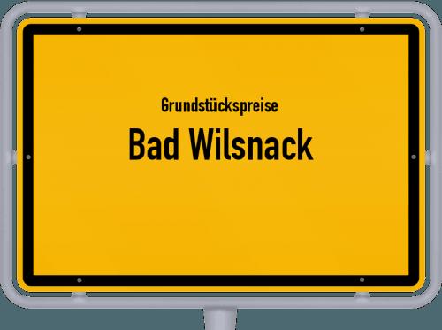 Grundstückspreise Bad Wilsnack 2021