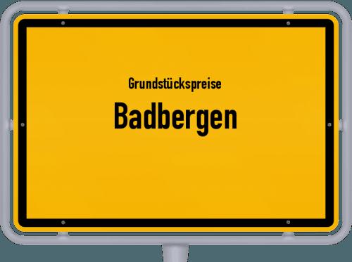 Grundstückspreise Badbergen 2021