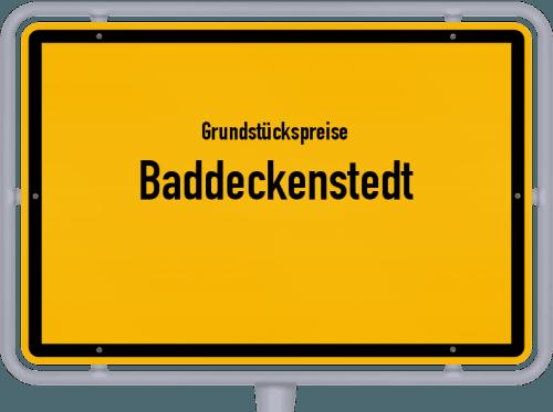 Grundstückspreise Baddeckenstedt 2019