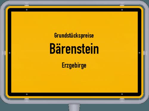 Grundstückspreise Bärenstein (Erzgebirge) 2019