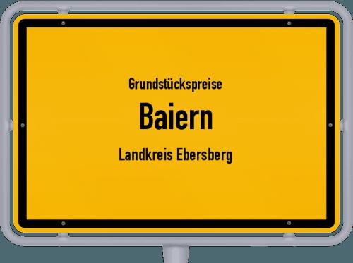 Grundstückspreise Baiern (Landkreis Ebersberg) 2019
