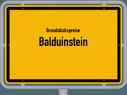 Grundstückspreise Balduinstein 2019