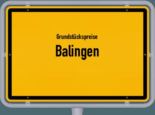 Grundstückspreise Balingen 2021